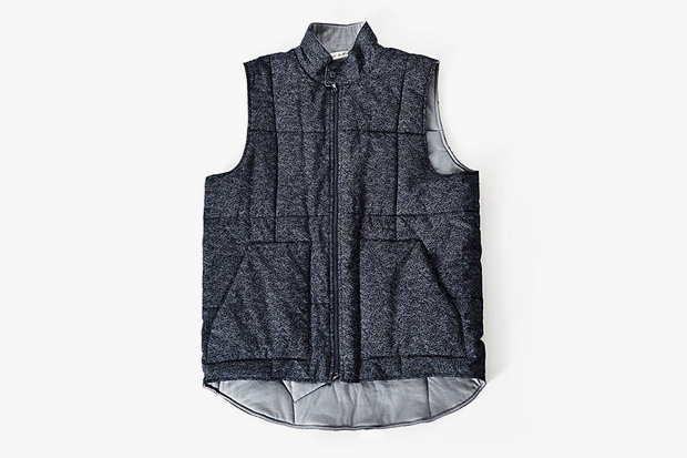 the hill side x outlier spring vest