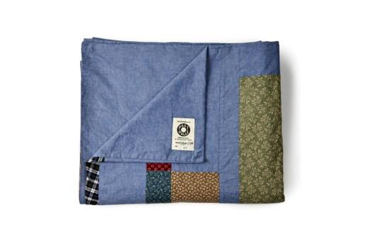 Hiromi Kiyama x Inventory 2012 Post Overalls Patchwork Blanket Collection