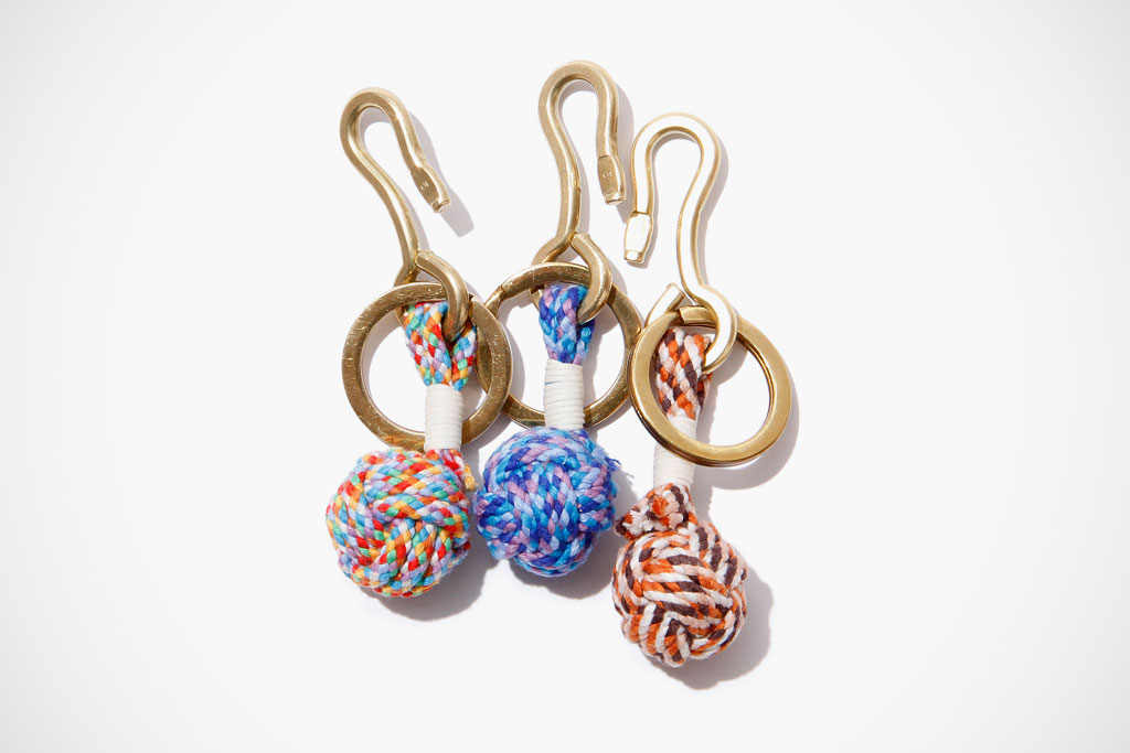 hobo Monkey Fist Knot Key Ring