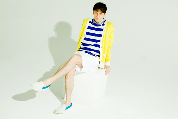 honeyee: Maison Kitsune 2012 Spring/Summer Editorial ft. Citizens!