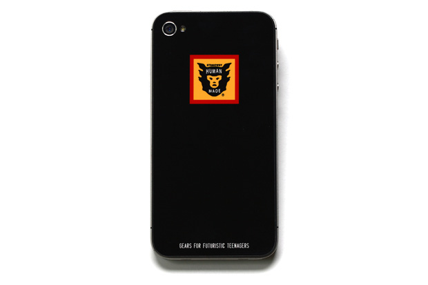 human made 2012 spring summer iphone 4 4s sticker collection