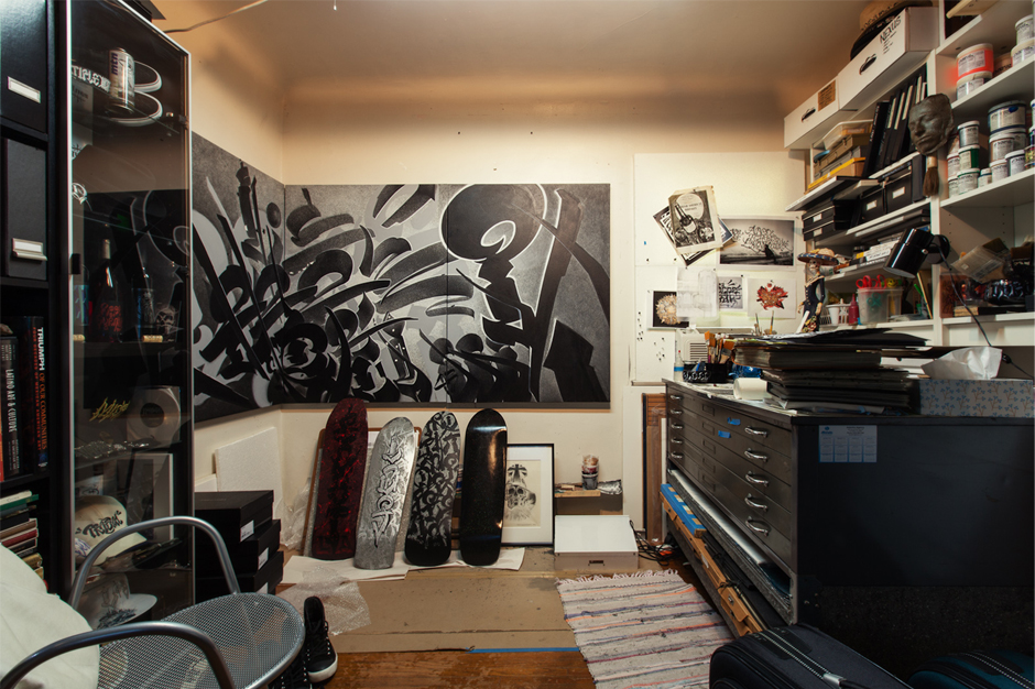 HYPEBEAST Spaces: The Working Sphere of Chaz Bojorquez