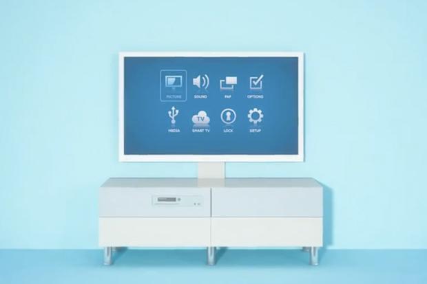 """IKEA Unveils """"UPPLEVA"""" HDTV Entertainment System"""