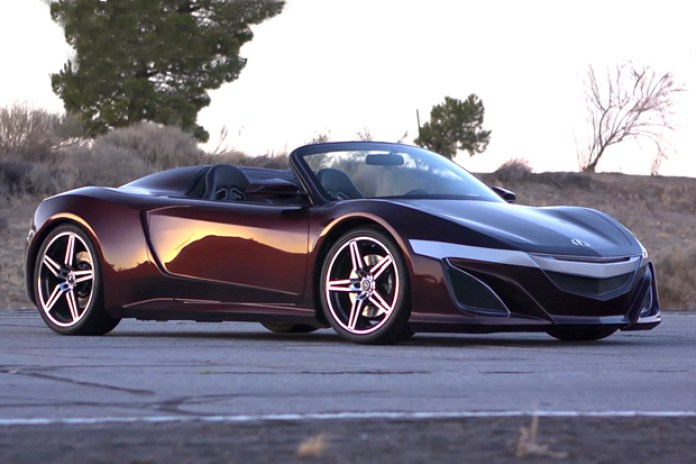 Inside Line: Acura NSX Roadster from The Avengers