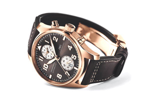 iwc pilots chronograph watch antoine de saint exupery edition
