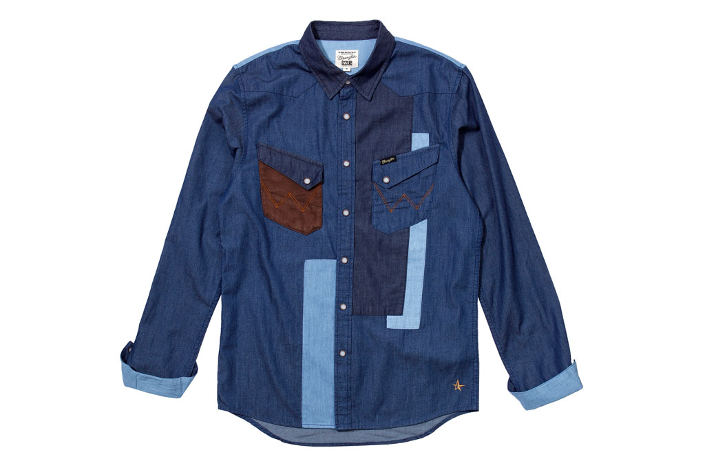 izzue x wrangler 2012 spring summer capsule collection