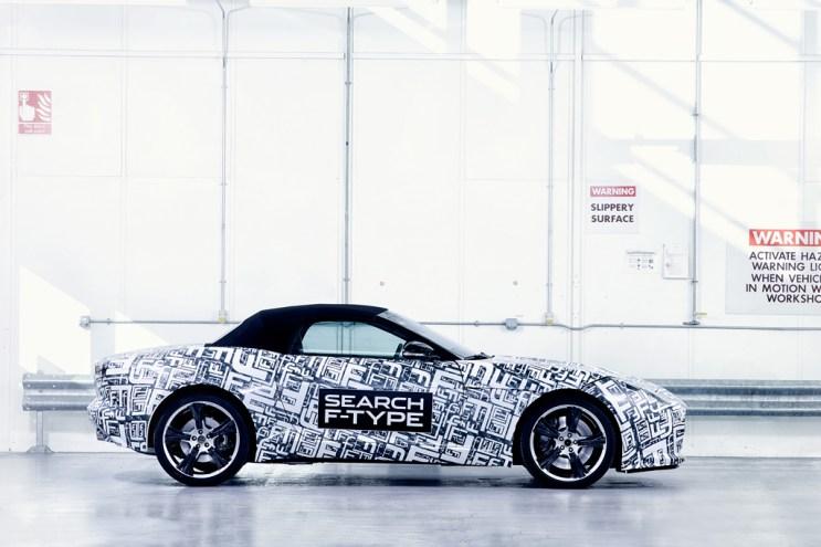 Jaguar Announces Its New F-Type Sportscar