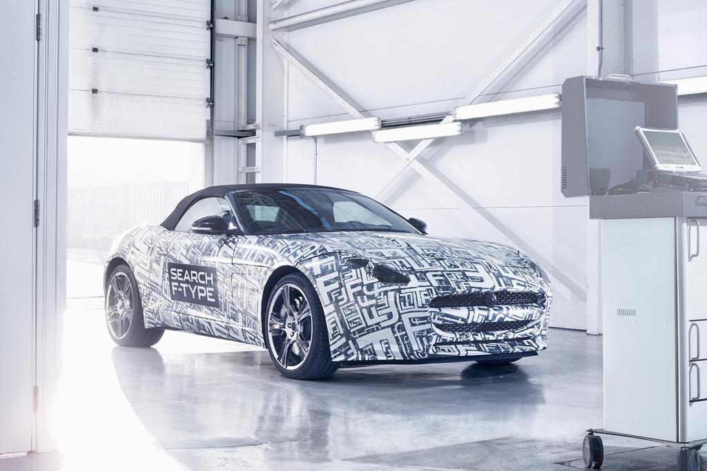 jaguar announces its new f type sportscar