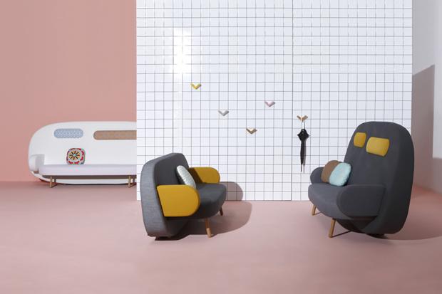 Karim Rashid's Float Sofa for Sancal