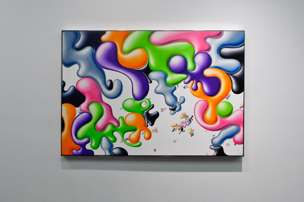 "Kenny Scharf ""Hodgepodge"" Exhibition @ Honor Fraser Recap"