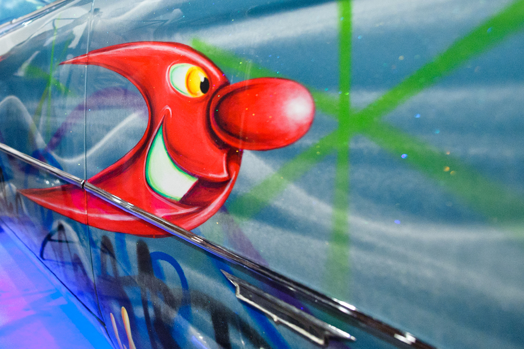 "Kenny Scharf ""Hodgepodge"" Exhibition @ Honor Fraser Recap"