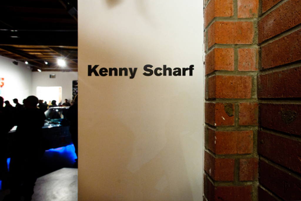 kenny scharf hodgepodge exhibition honor fraser recap