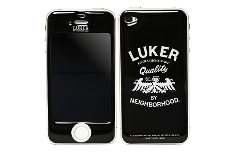 LUKER by NEIGHBORHOOD x Gizmobies iPhone 4/4S LK. HERALDRY Skin