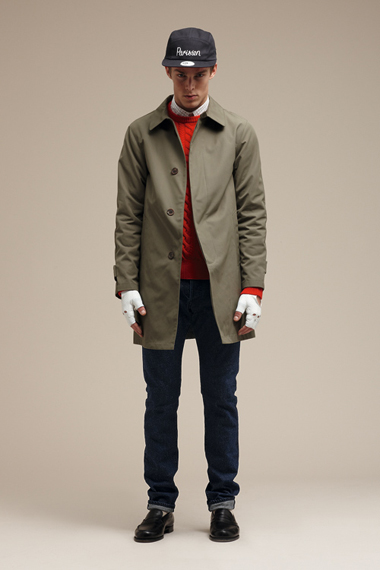 maison kitsune 2012 fall winter collection