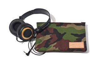 master-piece x Audio-Technica 2012 Spring/Summer ATH-SJ55 Headphones