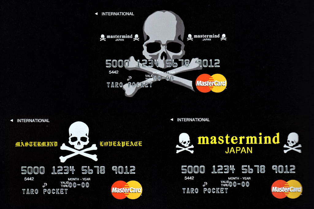 mastermind JAPAN x magaseek Special Limited Edition MasterCard