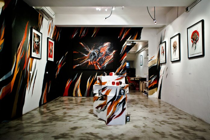 "MEGGS ""Journey is the Reward"" Exhibition @ Above Second Gallery Recap"