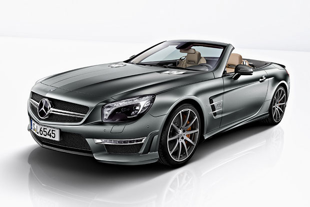 Mercedes-Benz SL65 AMG 45th Anniversary Edition