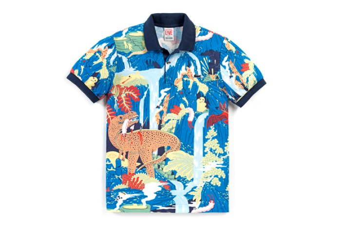 Micah Lidberg x Lacoste L!VE Animal Illustration Collection