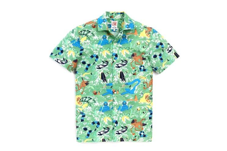 Micah Lidberg x Lacoste L!VE Animal Illustration Shirts