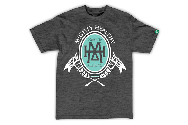 mighty healthy 2012 spring summer t shirt collection