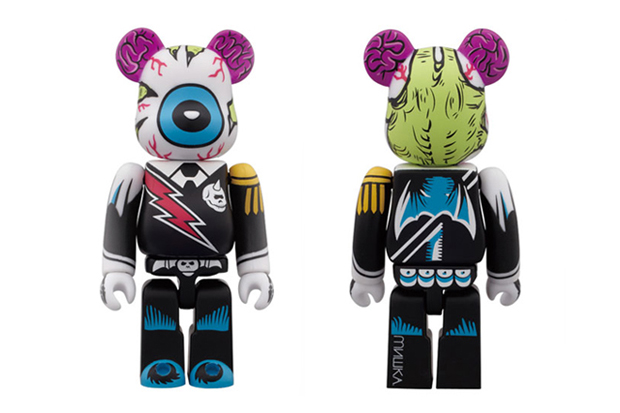 Mishka x Medicom Toy 2012 Color Ver. 100% Bearbrick