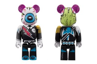 Mishka x Medicom Toy 2012 Color Ver. 100% Bearbrick