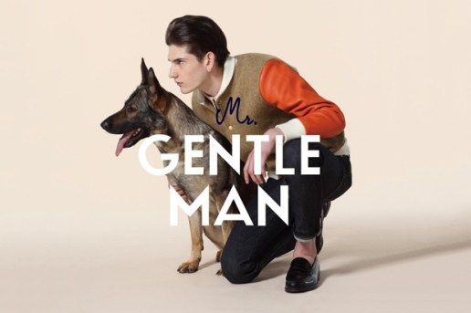 MR.GENTLEMAN 2012 Fall/Winter Collection Lookbook