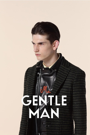 MR.GENTLEMAN 2012 Fall/Winter Collection Lookbook