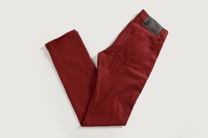 Blue Owl x Loop Clothing x Naked & Famous 2012 Weird Guy Red Selvedge Chino