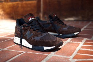 """New Balance 998 """"Made in the USA"""" Brown"""