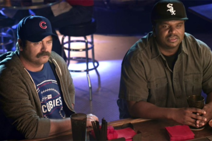 New Era Commercial Pits Ron Swanson vs. Darryl Philbin
