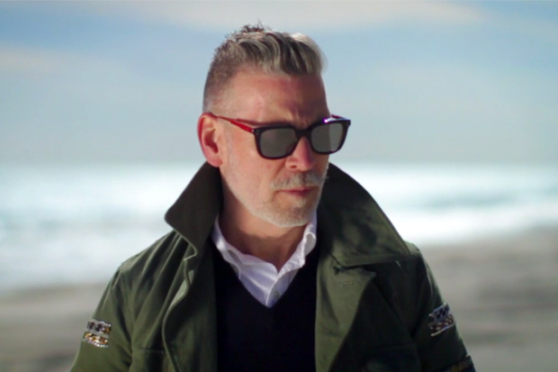 Nick Wooster & Orlebar Brown Camo Swim Trunks Video
