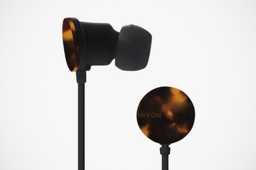 Nixon The Wire Tortoise Earphones