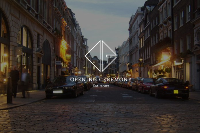 Opening Ceremony to Open Pop-Up Shop for London's 2012 Olympic Games