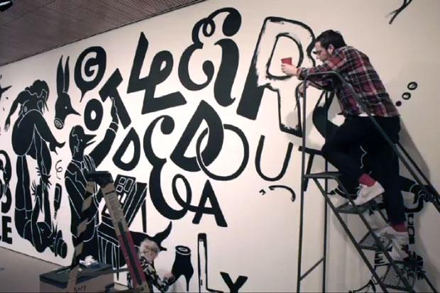 Parra SFMoMA Mural Time-Lapse Video