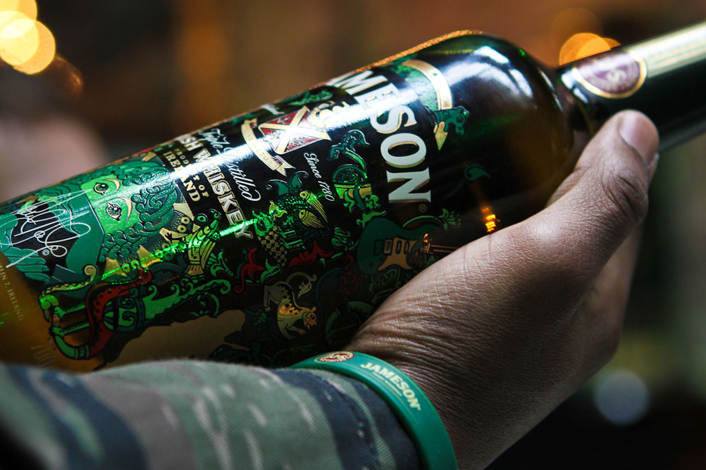 Paul Daly x Jameson Whiskey Limited Edition Bottle Launch