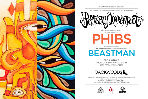 """PHIBS """"Perfectly Imperfect"""" & Beastman """"Natural Progression"""" Connected Exhibition"""