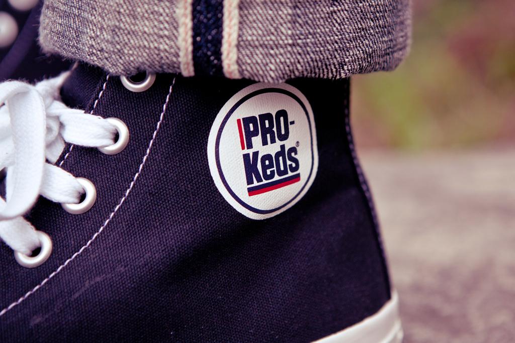 PRO-Keds 2012 Spring/Summer Royal Hi Black