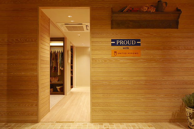 PROUD with UNITED ARROWS Concept Room