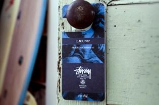 "Stussy x retaW ""Laguna"" Fragrance Room Tag"
