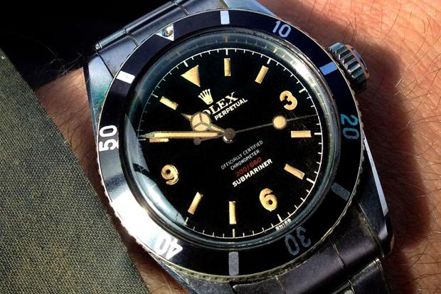 Retrospect: Rolex Submariner Ref. 6538 - Explorer Dialed 369, Red Depth, Four Line 3 Color Print with OCC