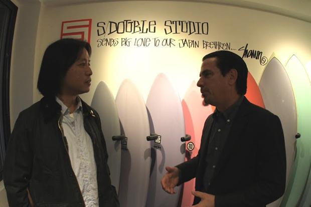 s double surfshop tokyo opening recap