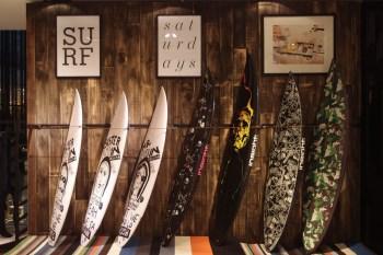 Saturdays Surf NYC Pop-up Store @ Lane Crawford ifc mall