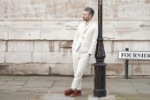 S.E.H Kelly Linen Suit