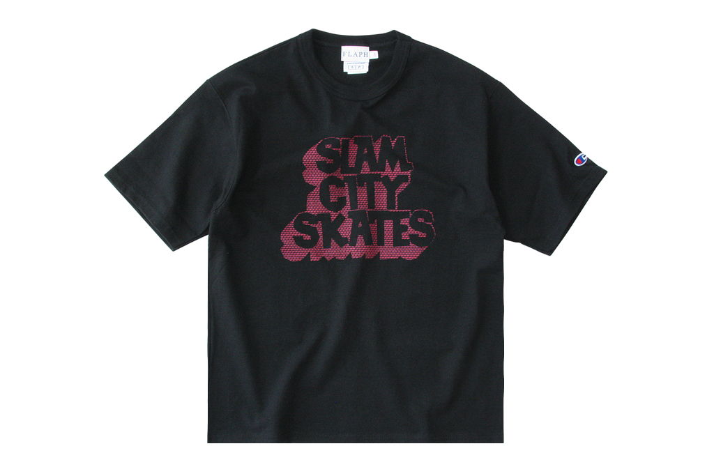 Slam City Skates x flaph 2012 T-Shirt Capsule Collection