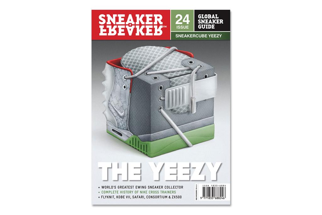 Sneaker Freaker Issue 24 - The Yeezy Cover