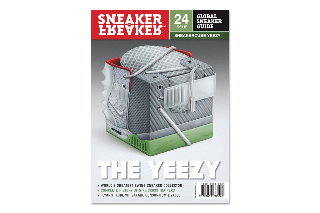 sneaker freaker issue 24 the yeezy cover