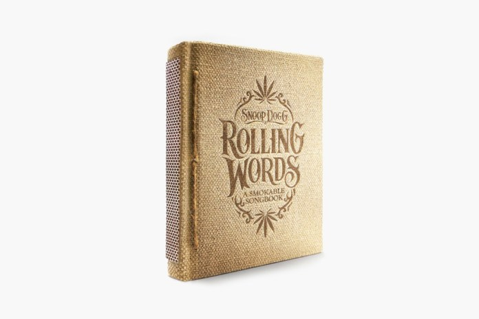 Snoop Dogg's Rolling Words: A Smokable Songbook