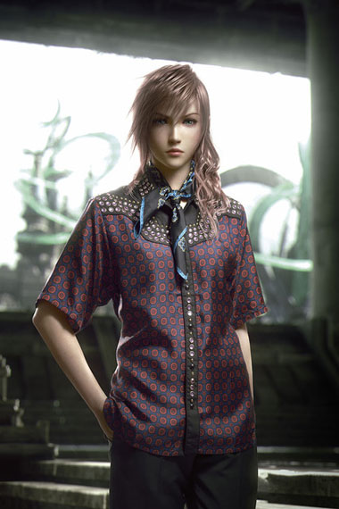 SQUARE ENIX x Prada 2012 Spring Collection in Arena Homme+ Magazine
